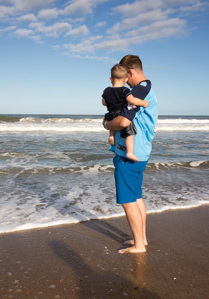 Andy and Brady at the shoreline.jpg