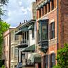 Savannah historic houses