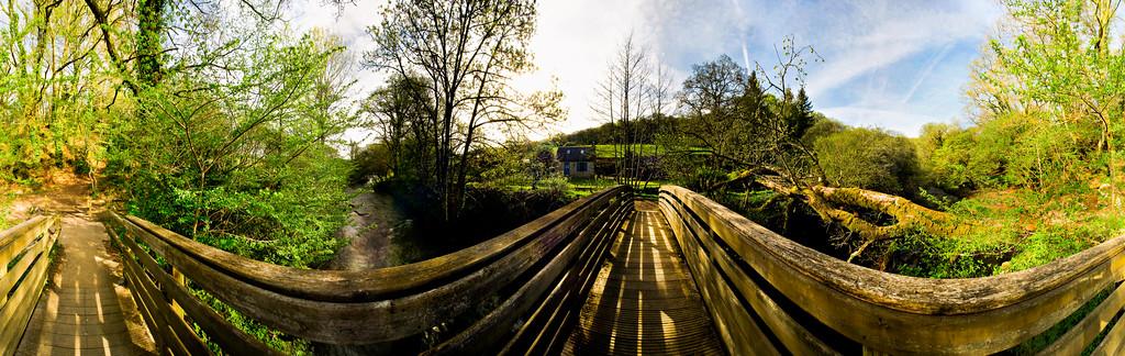 Pont sur la rivière, Ergué-gaberic