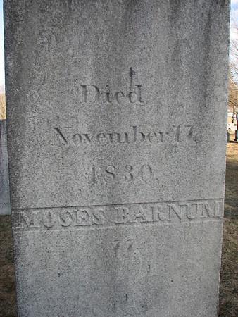Moses Barnum Grave