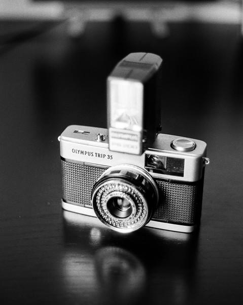 Nikon F with Ilford HP Plus 400