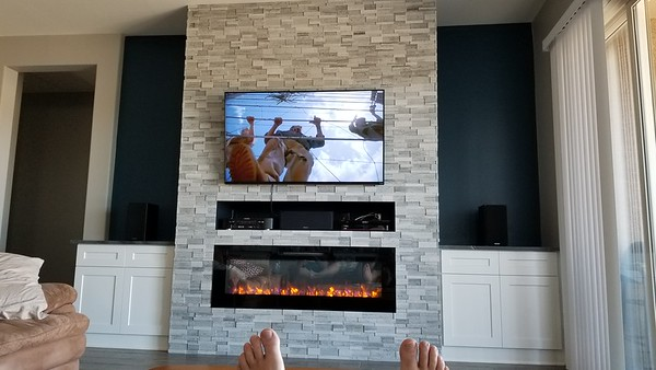 2019-07-06 Fireplace Backsplash