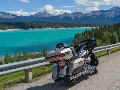 Day 1 - Hwy 11 to Icefields Parkway
