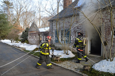 20140314 - Locust Valley - House Fire