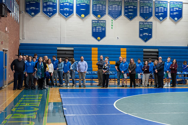 Churchill v Whitman - Senior Night