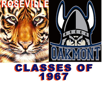 Roseville high school class of 1967 reunion