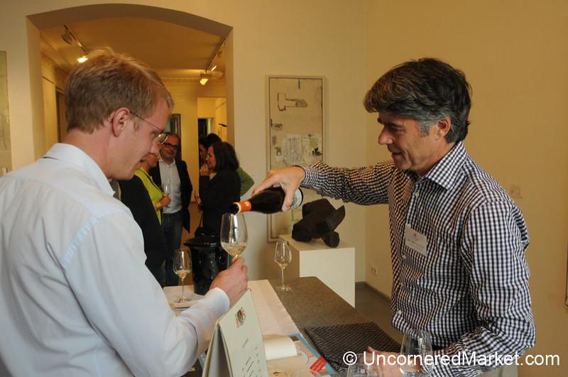 Wine Tasting in Art Galleries Throughout Berlin, Germany