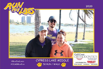 Cypress Lake Middle School Run for the Lakes 2020