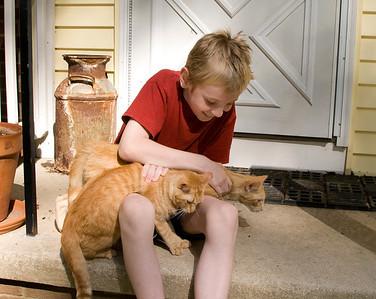 Daniel, Tabitha and Hermes July 10, 2011