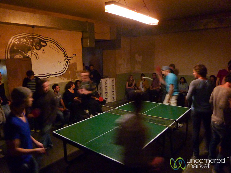 Ping Pong Roulette at Dr. Pong - Mitte, Berlin