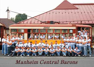 Team Picture & Seniors @ Manheim Railroad Station
