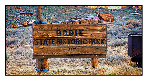 Bodie State Historic Park - USA - Over The Years.