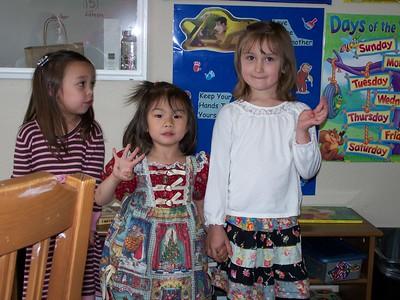 Mother's Day Tea at Kaara's School
