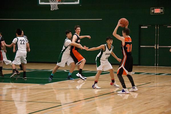 JV Boys Basketball vs Willamina