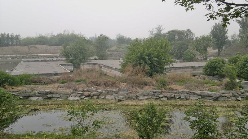 20120513_1143 圆明园. YuanMingYuan. In the north-west, and generally less interesting, corner of the park. This little gem only had goat-tracks leading to it (no bridge to cross that little stream, though).
