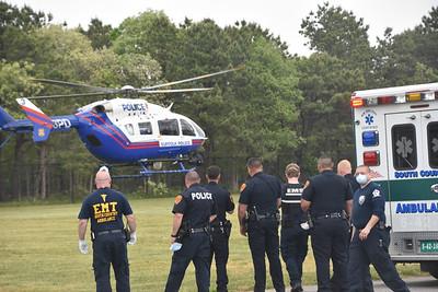 2020.06.02 Brookhaven Dirt Bike Crash with Medevac Southaven Dr Off Chestnut