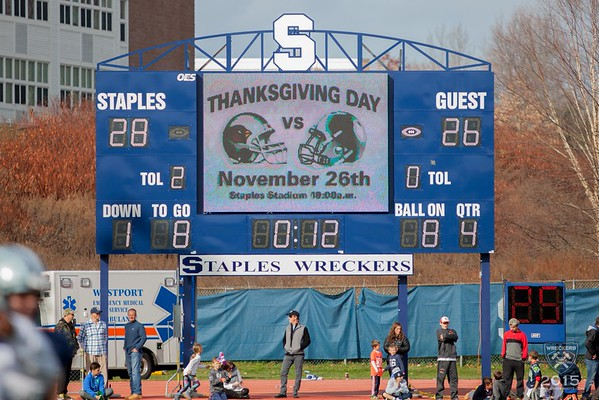Staples v. Greenwich 2015 Thanksgiving Game