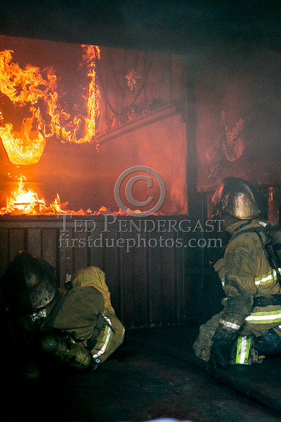 Belmont MA - Flashover Training