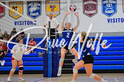 Ankeny Christian Academy Eagles Volleyball vs. Orient Macksburg 09162021