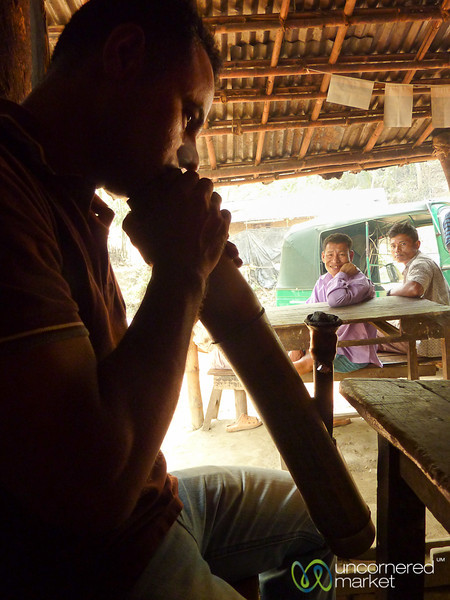 Traditional Pipe at Tea Shop - Rangamati, Bangladesh