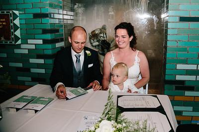 Jennifer en Michael | Bruiloft in Dierenpark Amersfoort