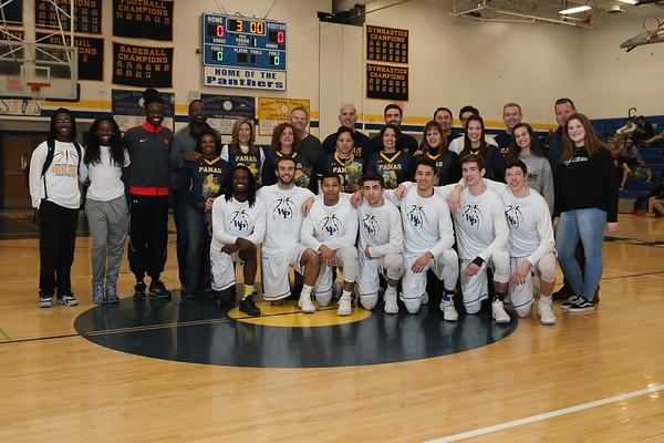 2-5-18 Irvington Senior Night