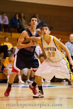 Basketball Soph SHS vs Timpview 1-24-2012