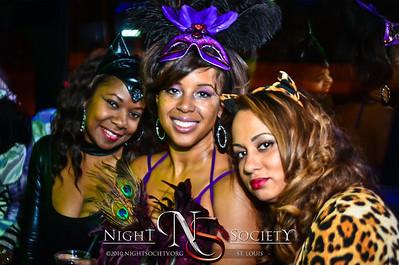 Night Society Nightlife Express Partybus Halloween Edition 10-27-12