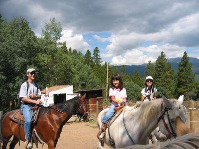 SundanceTrail Rides July 24, 2005