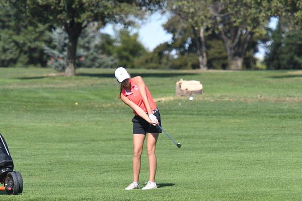 Girls Golf - Palmyra Dual
