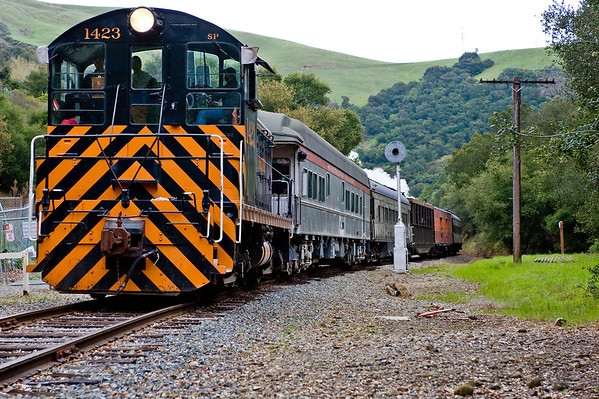Niles Canyon Railway - Spring Steam Special