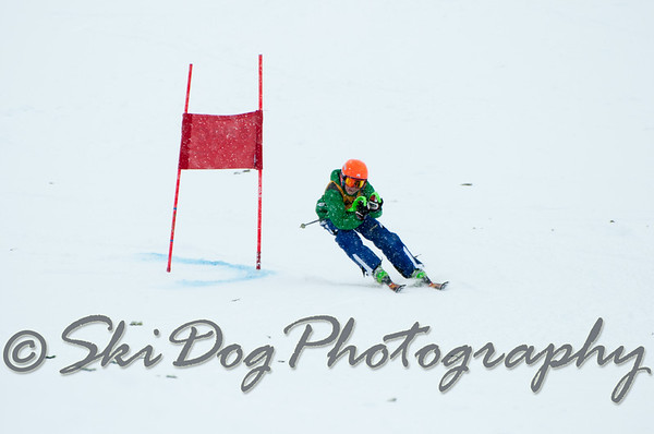 2012 Evergreen Cup GS 2nd Run Men