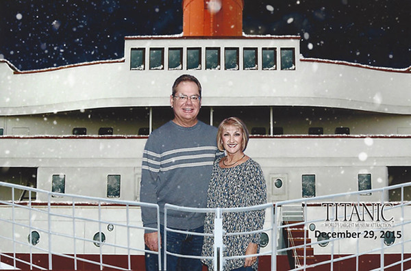 dec 29 Titanic museum and wax museum