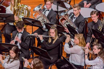 1-29-2020 Norwin Wind Ensemble at Exchange Concert