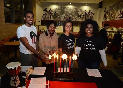 Celebration of Lights & Lighting Moore Library