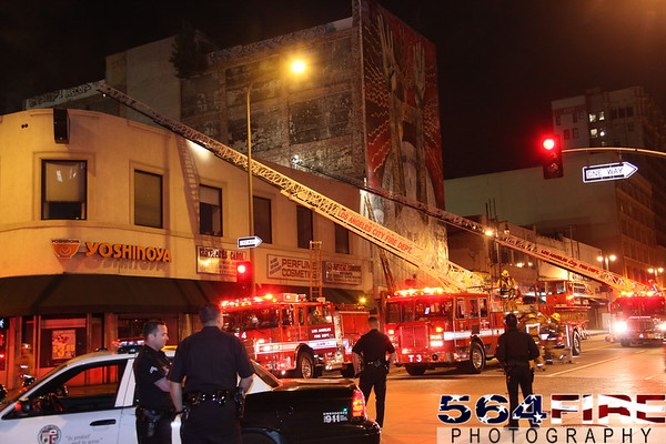 LAFD - Commercial Fire - 2-26-10