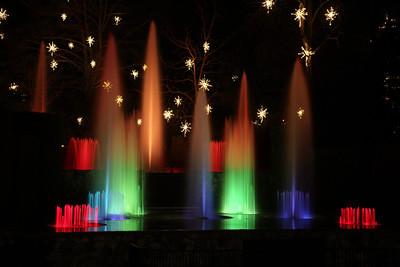 Longwood Gardens at Night