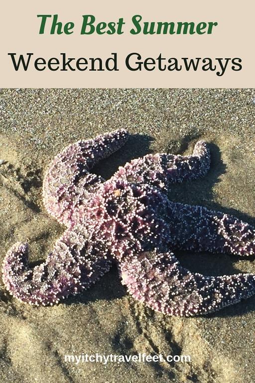 The Best summer weekend getaways.