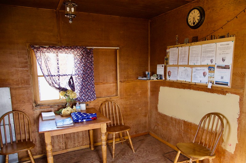 Geer cabin interior
