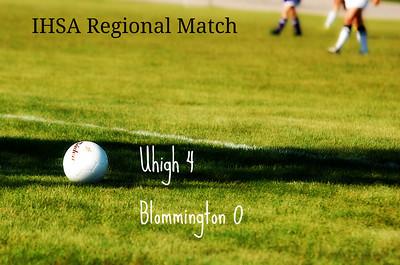 Uhigh Girls Varsity Soccer 2012
