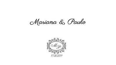 Mariana & Paulo 17.08.2019