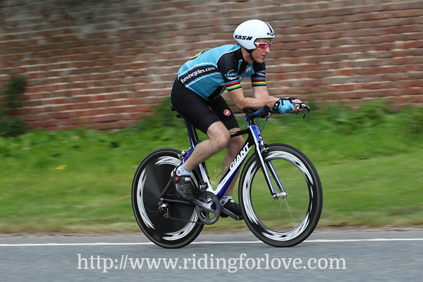 Yorkshire Cycling Federation 30 and 15 mile TT , 19th August 2017, Boroughbridge.