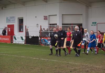 Gillingham Ladies  V Sheffield ladies    FA cup semi final