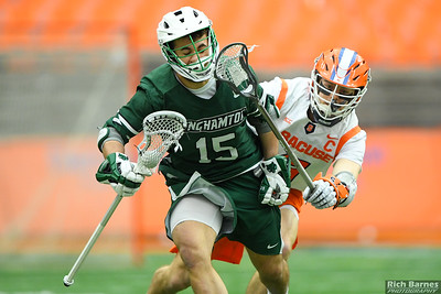 NCAA MLax: Binghamton at SU; 2/15/20