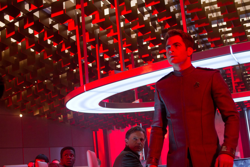 . Chris Pine is Kirk in STAR TREK INTO DARKNESS, from Paramount Pictures and Skydance Productions.   (Photo by Zade Rosenthal)