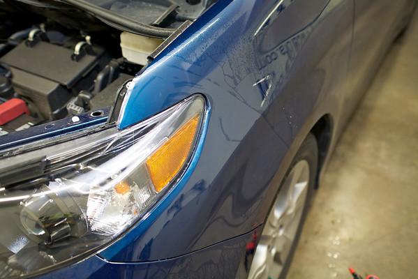 2013 Toyota Sienna Clear Bra