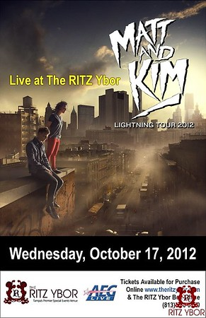 Matt and Kim October 17, 2012