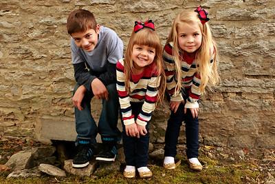 Sam, Molly & Josie {fall kid pics}