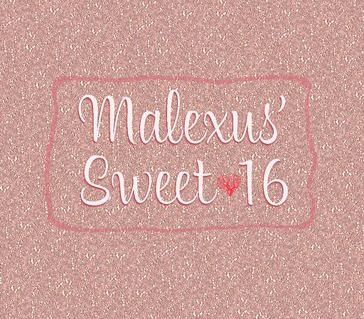 Malexus' Sweet 16