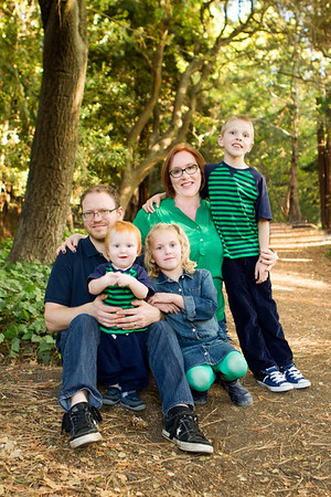 Portrait-Campbell Family